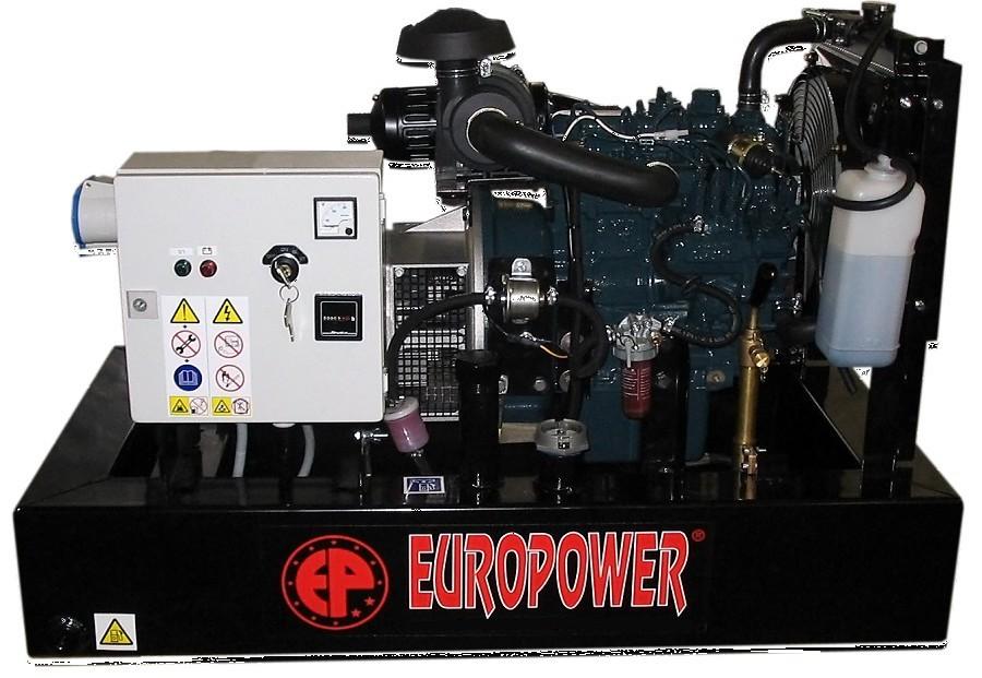 Генератор дизельный Europower EP 30 DE в Белогорске